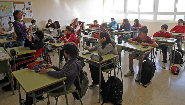 Un total de 13.376 alumnos de 4º de Primaria y 2º de ESO realiza la prueba diagnóstica
