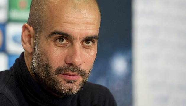 El entrenador del Bayern, Pep Guardiola