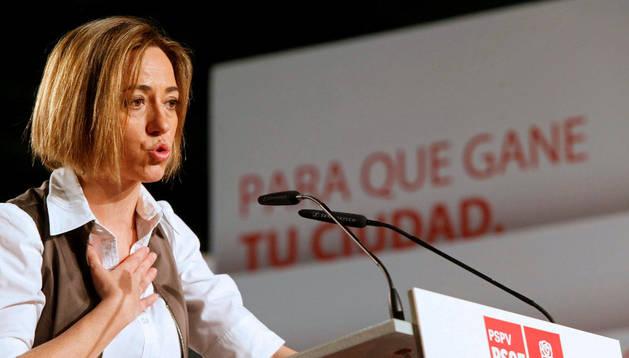 La exministra de Defensa Carmen Chacón. EFE