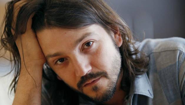 El cineasta y actor mexicano Diego Luna