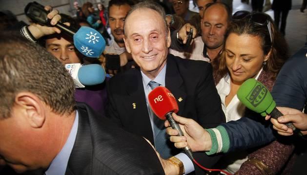 El expresidente del Betis, Manuel Ruiz de Lopera