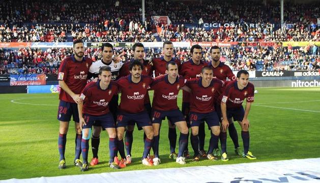 Fotografías del partido de Osasuna contra el Celta