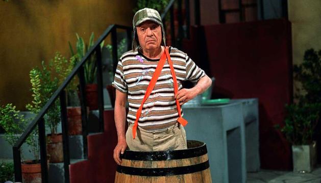 'Chespirito', caracterizado como el Chavo del Ocho.