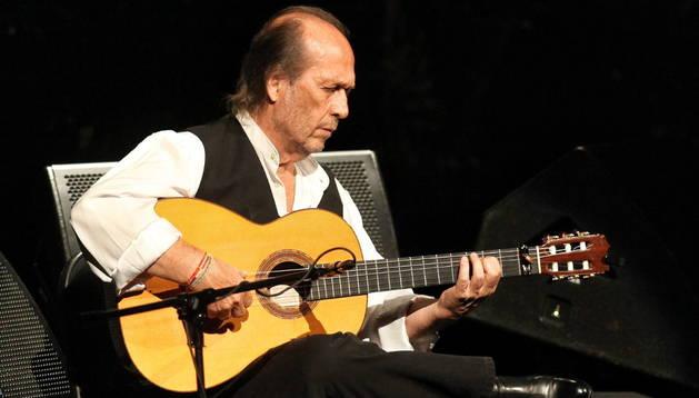 El guitarrista Paco de Lucía. EFE