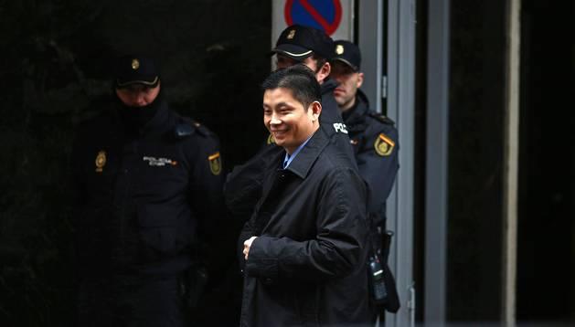 Gao Ping en la Audiencia Nacional
