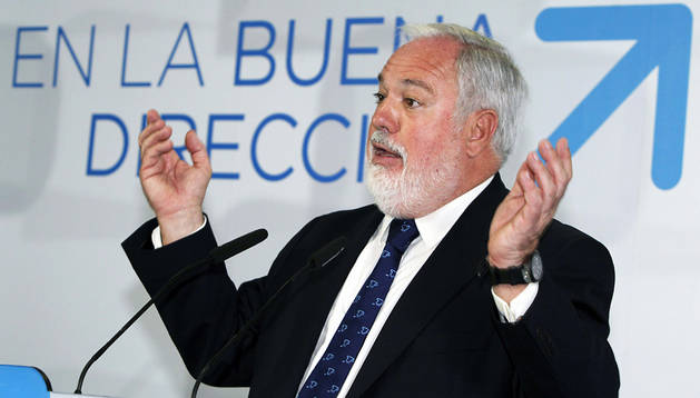 Miguel Arias Cañete, cabeza de cartel del PP para el 25 de mayo