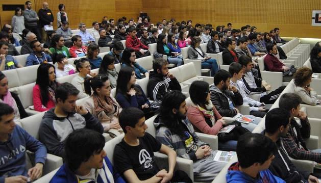 Alumnos participantes en la Semana del Emprendimiento