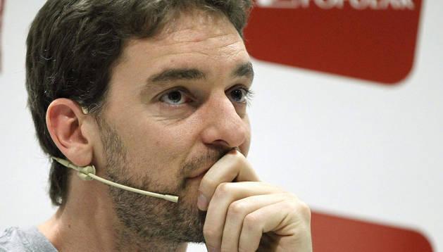 Pau Gasol, en Madrid.