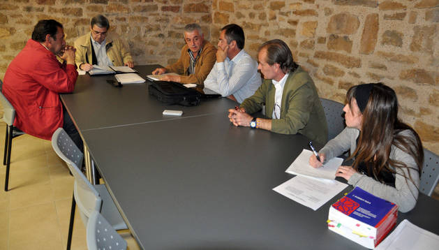 Un momento de la sesión celebrada en Cataláin.