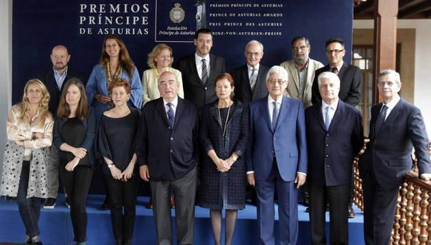 El jurado del Premio Príncipe de Asturias de las Artes