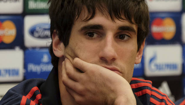 El jugador del Bayern de Munich, Javi Martínez. AFP