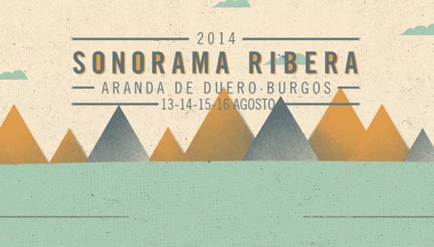 Cartel del festival Sonorama 2014.