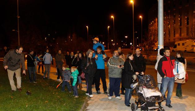 Uno de los momentos de la manifestación del 28 de noviembre.