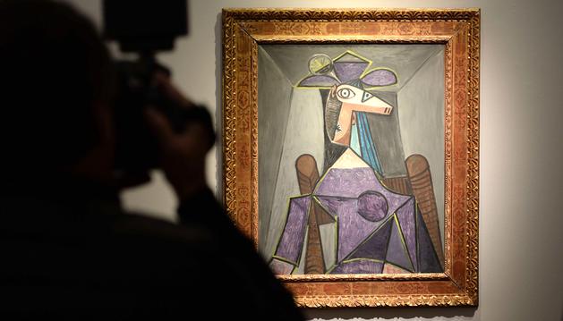 Uno de los retratos de Dora Maar de Picasso