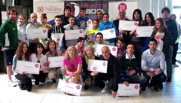 Récord de participación en el Campeonato Navarro Mixto