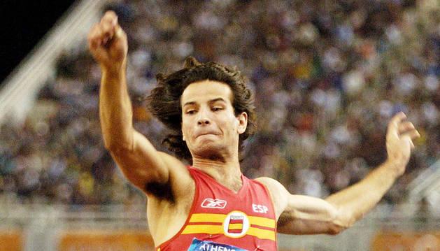 El saltador Yago Lamela