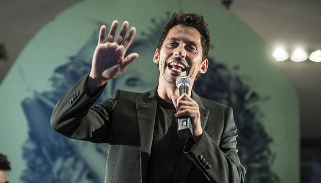 Paco León durante la presentación de 'Carmina y amén'. EFE