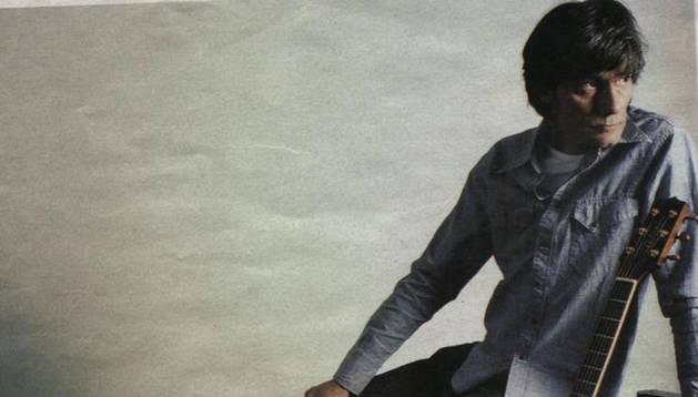 El cantante Antonio Vega. DN
