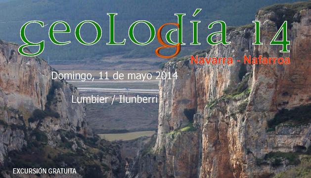 Cartel de 'Geolodía 14'