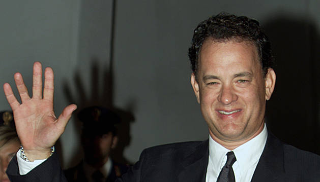 El actor estadounidense Tom Hanks. AP
