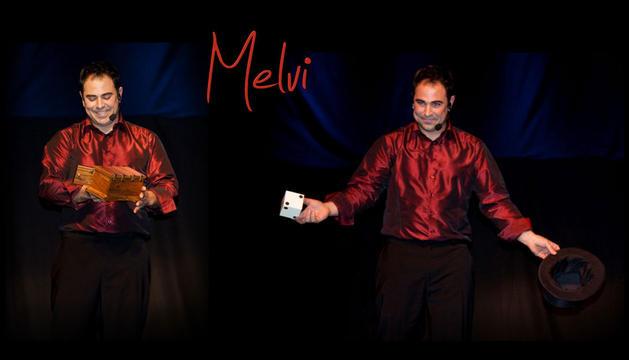 El mago Melvi.