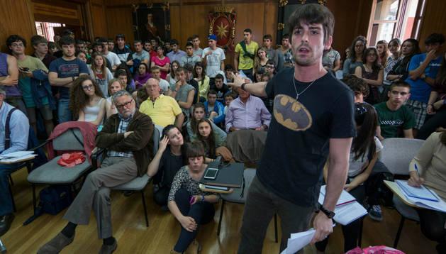 Pleno del Ayuntamiento de Estella