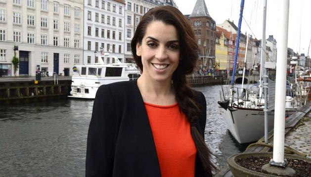 Ruth Lorenzo, la representante española en Eurovisión, en Copenhague