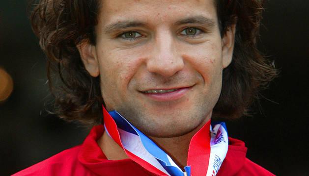 Yago Lamela, en una imagen de agosto de 2003