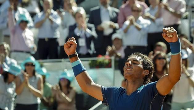 Nadal derrota a Bautista y luchará por su cuarto título en Madrid