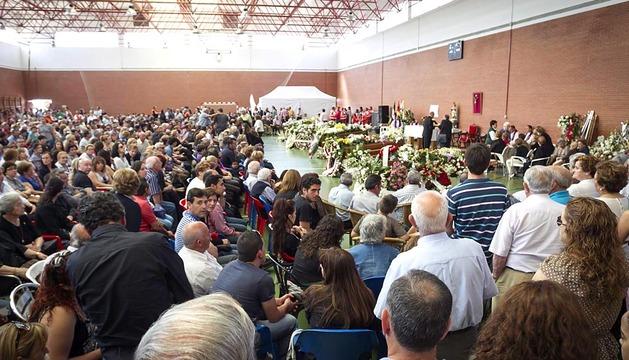 Funeral por los fallecidos en el accidente de tráfico en Badajoz