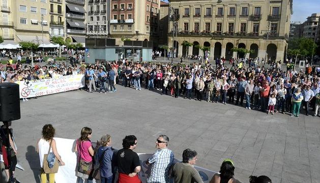 Manifestación en defensa de la sanidad pública