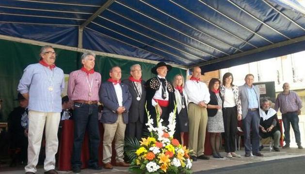 Los nuevos cofrades de la Cofradía del Espárrago de Navarra