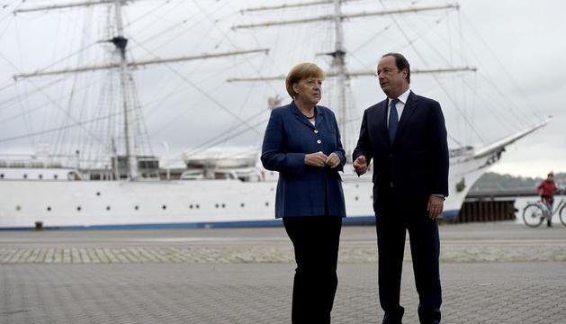 La reunión entre ambos líderes tuvo un carácter informal, con paseo en barco incluido