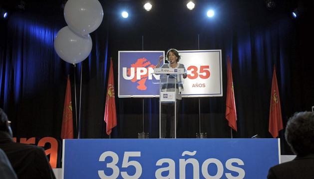 Barcina, en Baluarte, en el acto de los 35 años de UPN