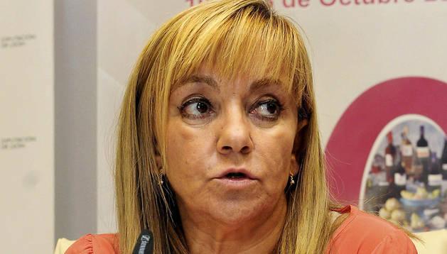 Fotografía de archivo del 8 de octubre de 2013 de la presidenta de la Diputación de León, Isabel Carrasco