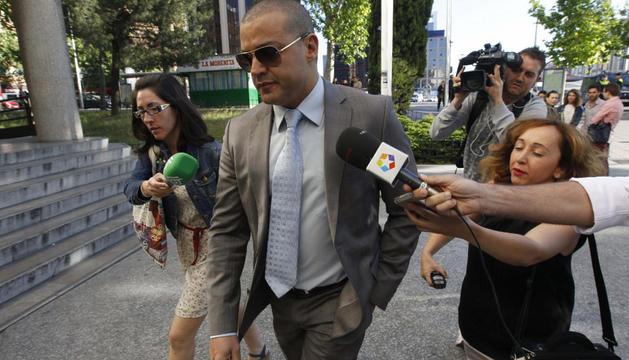 Miguel Ángel Flores, principal imputado por la tragedia del Madrid Arena, este lunes en Madrid
