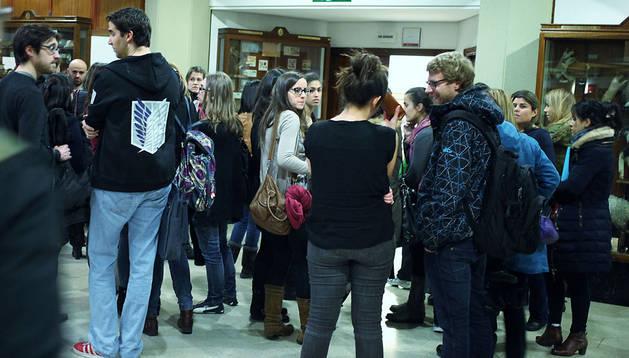 Participantes en el último examen MIR, en febrero de este año