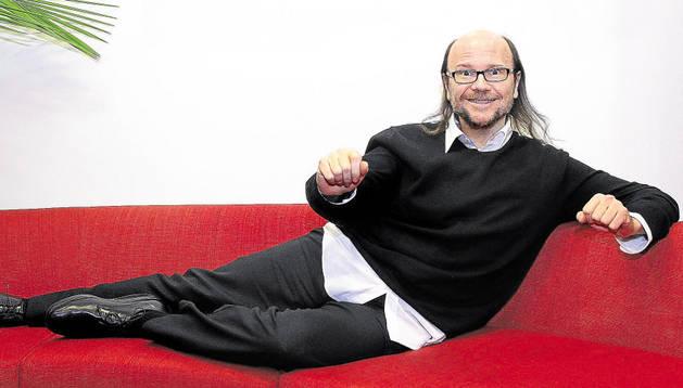 El director Santiago Segura. COLPISA
