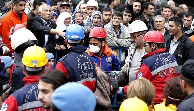 Tragedia en una mina de carbón de Turquía