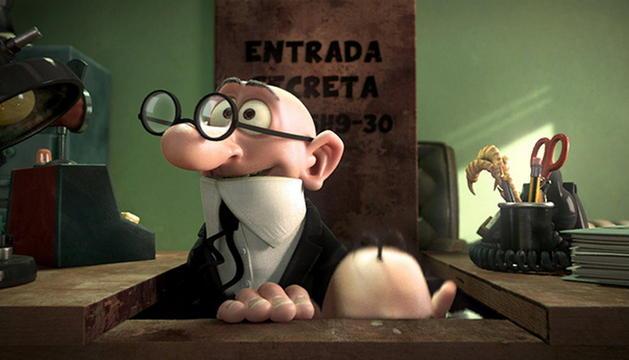 Fotograma de la superproducción en dibujos animados 'Mortadelo y Filemón contra Jimmy el Cachondo'