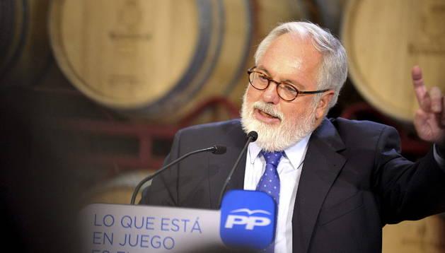 El candidato del PP al Parlamento Europeo, Miguel Arias Cañete.