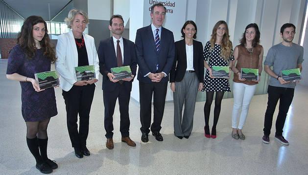 Imagen de los galardonados en los Workplacement Excellence Awards que otorga la Fundación Empresa Universidad de Navarra
