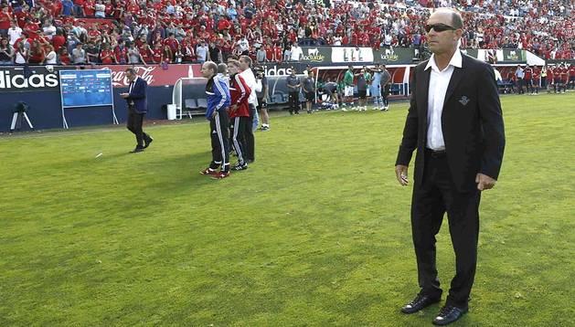 El entrenador del Betis, el argentino Gabriel Humberto Calderón