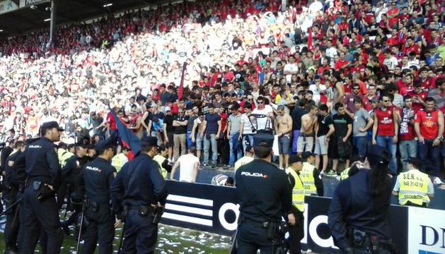 Fondo sur del estadio de El Sadar