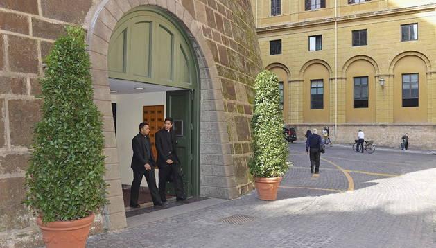 Una imagen del Instituto de Obras de Religión (IOR), conocido como el 'banco del Vaticano'