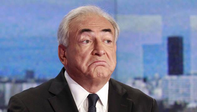 El ex director gerente del FMI Dominique Strauss-Kahn.