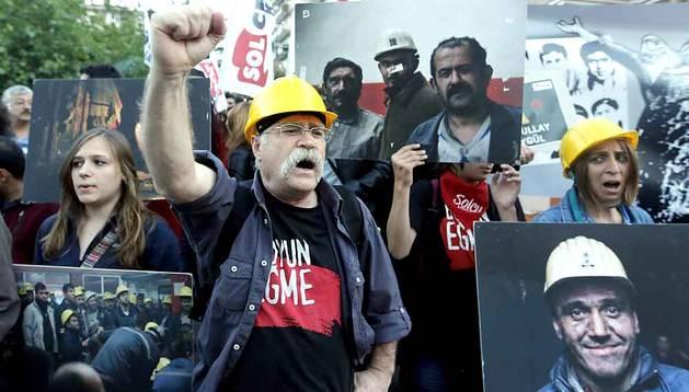 Protestas en Estambul por el accidente