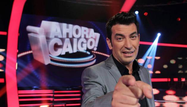 Una imagen promocional de '¡Ahora caigo!', con Arturo Valls