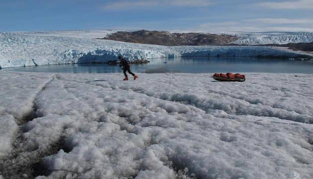 Capa de hielo de Groenlandia