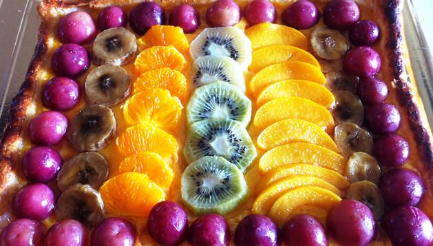 Tarta yeye de frutas